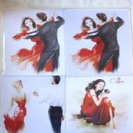 Салфетки для очков Танцы